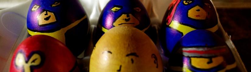 The Uncanny Eggs Men vsEggneto
