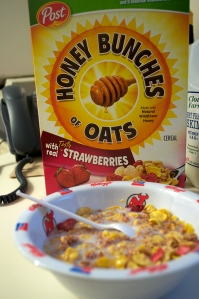 Honey Bunches of Oats w/ Strawberries