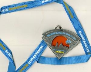 Minneapolis Marathon Medal
