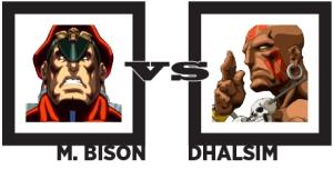 Bison vs Dhalsim