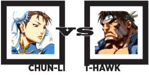 Chun-Li vs T-Hawk