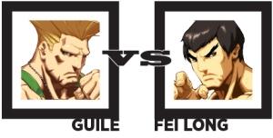 Guile vs Fei Long