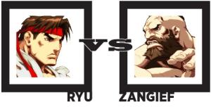 Ryu vs Zangief
