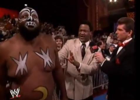 Kamala, Slick, Vince McMahon