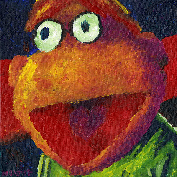MUPPET MONDAY: Scooter!