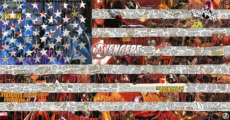 22×11.5″ Avengers USA(2015)