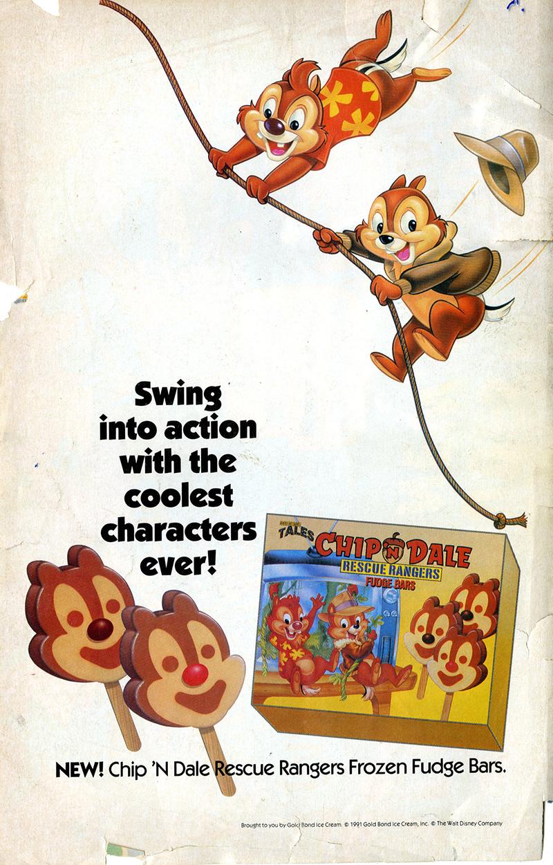 Chip & Dale Rescue Rangers Fudge Bars